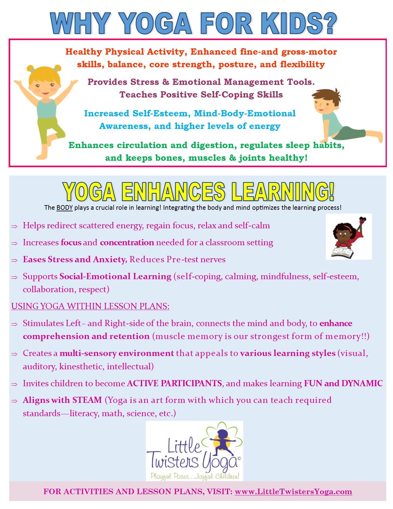 12 Fun Beginner-Level Kids ... by Little Twisters Yoga   Teachers Pay ...
