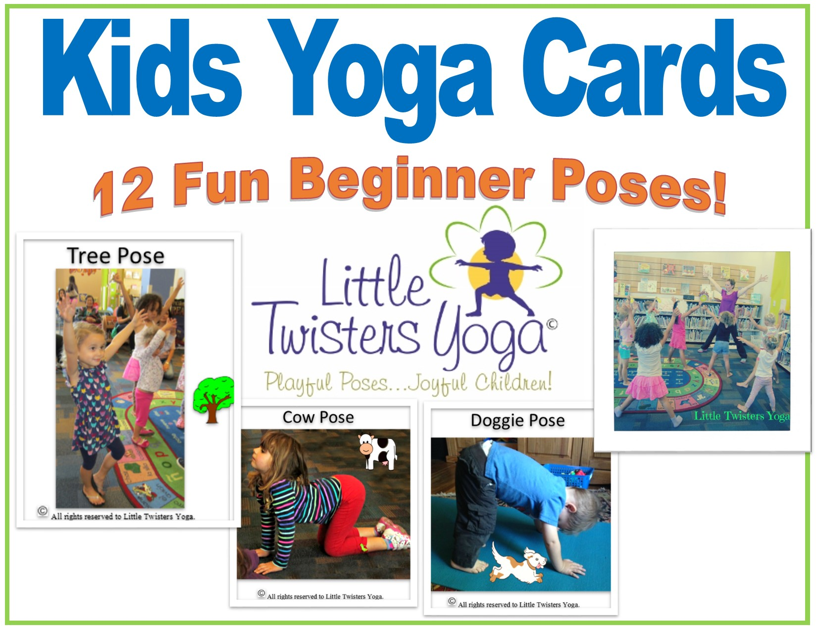 photograph about Printable Yoga Cards called On the internet Shop Small Twisters Yoga Psychological Well being