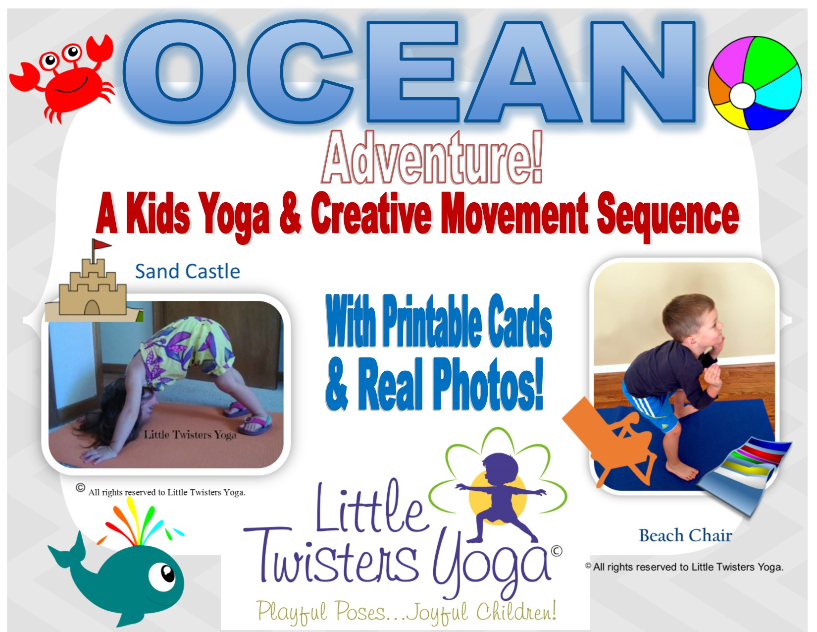 Online Store Little Twisters Yoga Emotional Wellness