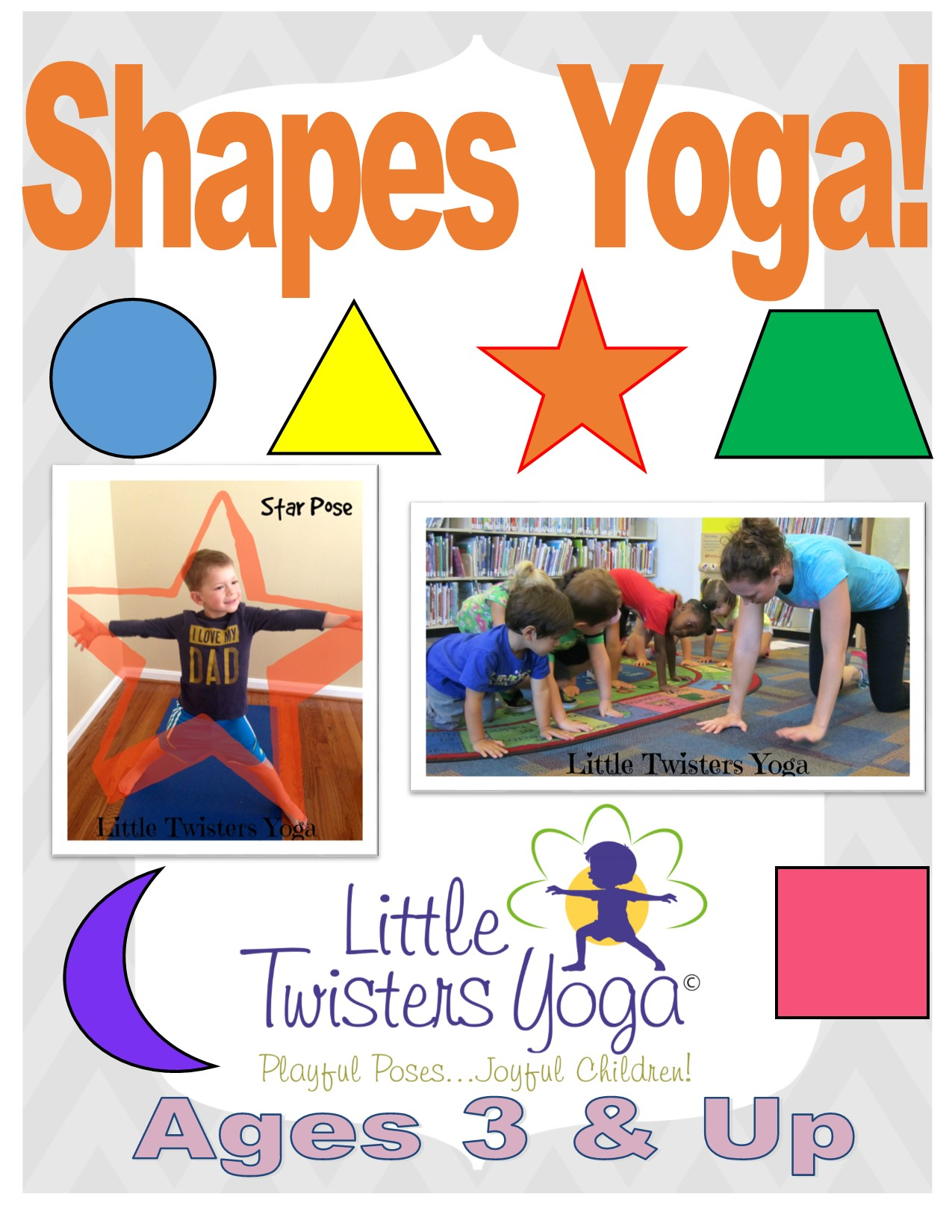 photograph relating to Printable Yoga Poses for Preschoolers named Successful Ideas upon Including Yoga towards Small children! Minor Twisters