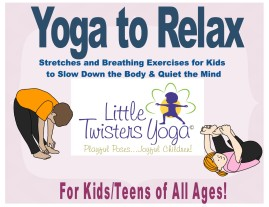 Yoga To Relax_All Ages_LittleTwistersYoga_Cover