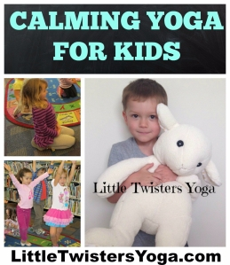 Calming Yoga for Kids Infographic