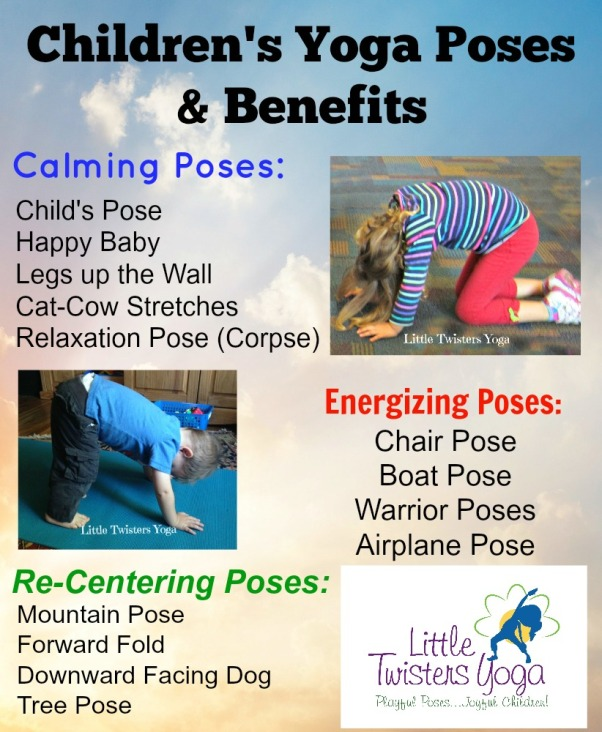 Children's Yoga Poses & Benefits_Infographic